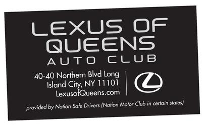 Lexus of Queens Auto Club Card