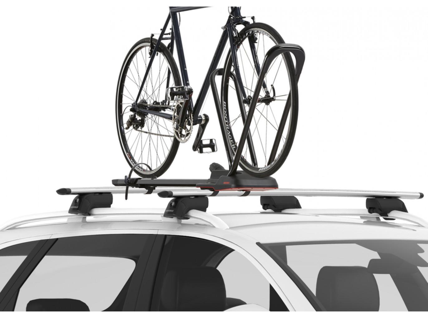 Yakima HighRoad Premium Rooftop Upright Bike Mount